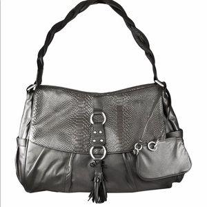 NWT 🤩 Simply Nina by Nina Raye Lambskin Handbag